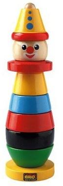 Köp Brio Stapel Clown - från Lekmer.se