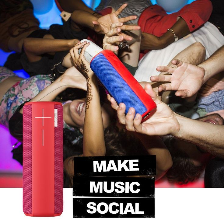 "Get a great ""everywhere"" party with Ultimate ears boom wireless Bluetooth speaker"
