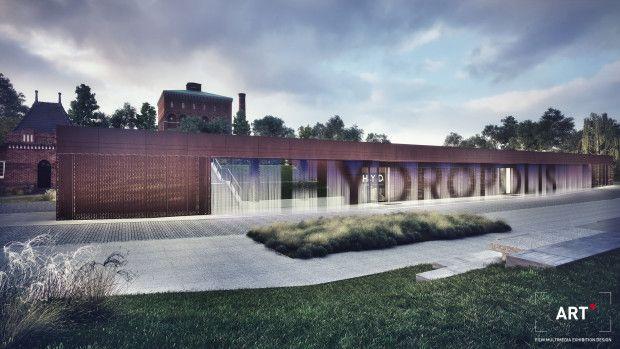 Project: Digital Water Wall at Hydropolis - CODAworx