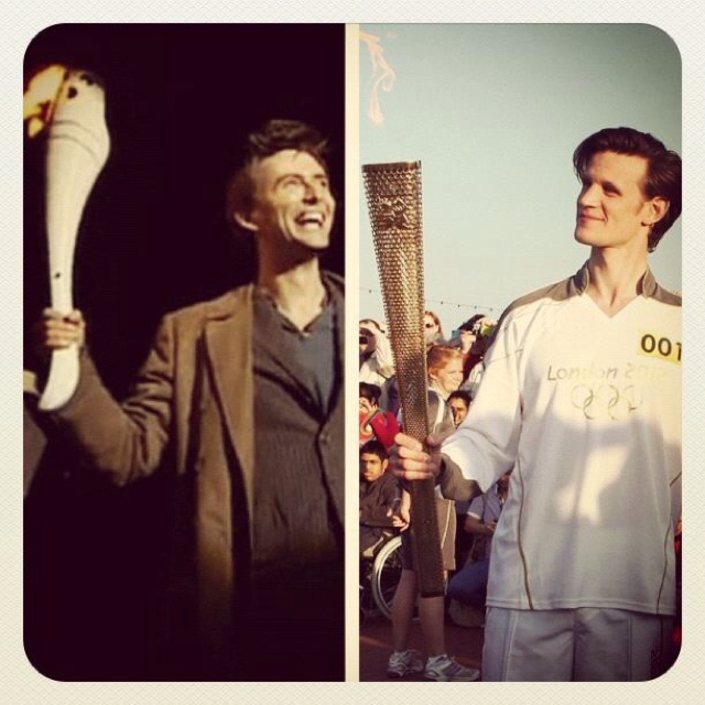 torch runners are cool.: Olympics Torches, 2012 Olympics, Runners I, Torches Runners, I'M Sad, I M Sad, David Tennant, Much Repin By Pinterest, Doctor
