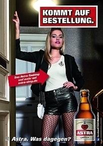 Schlüpfriges für den Bier-Schlüpfer: Astras neue Kampagne ...