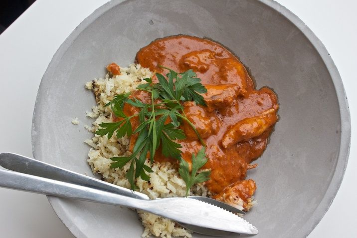 Indisk butter chicken - Hjemme hos Xenia