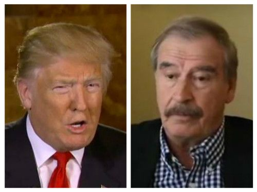 Ex-Mexican Pres Vicente Fox forgot what it was like to tangle with Trump: 'Stop lying! … show some respect'