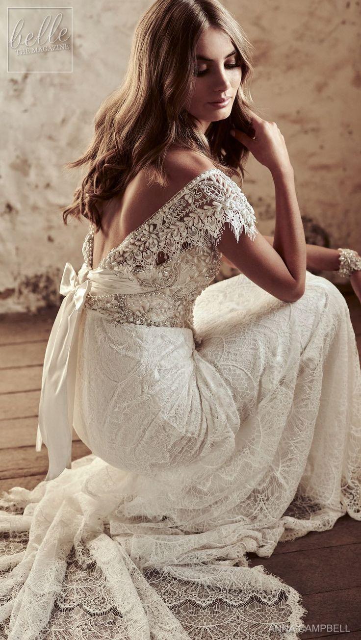 Wedding Dress by Anna Campbell Eternal Heart collection 2018