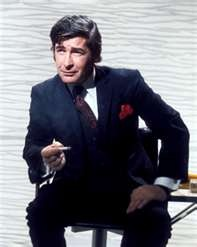 """Dave Allen - """" goodnight, and may your god go with you"""". Genius man."""