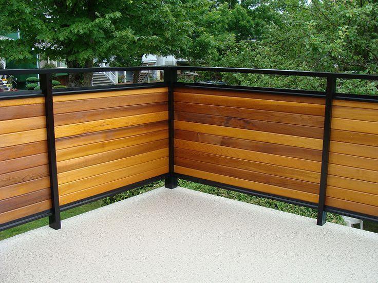Image Result For Solid Deck Railing Deck Railing Design