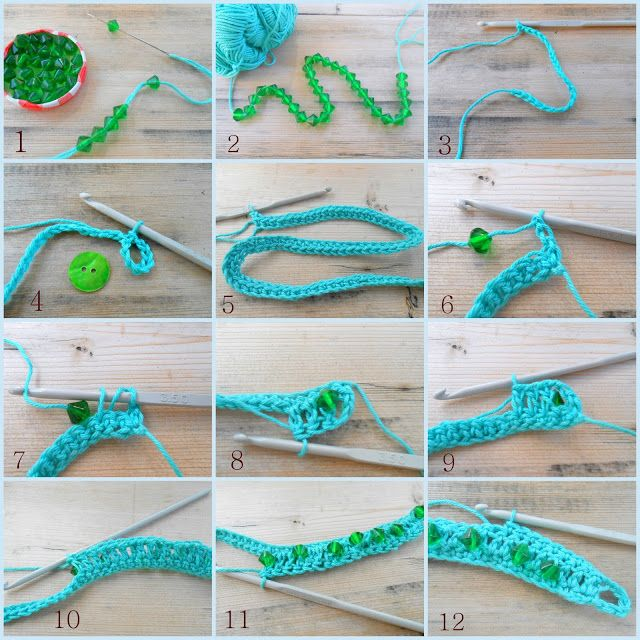 Lazy Daisy Jones crochet bracelet : how to
