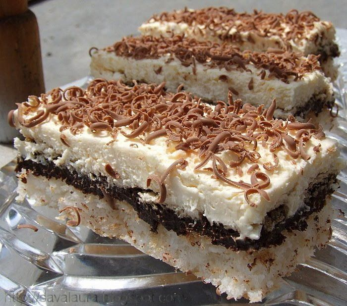 Cine ar putea refuza o felie din aceasta minunata prajitura cu nuca de cocos, ciocolata si nes, care pe langa faptul ca e rapida mai e si extrem de delicioasa??!!!Eu, una, niciodata :))) Ingredien...