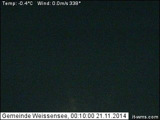 Haus Heimat - Webcam Weissensee