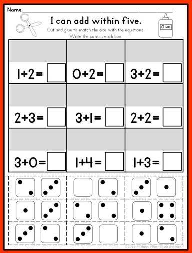 198 best images about kindergarten math on pinterest. Black Bedroom Furniture Sets. Home Design Ideas