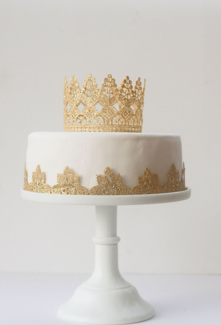 Lace Cake Band Wedding Cake Decoration Queen Cake