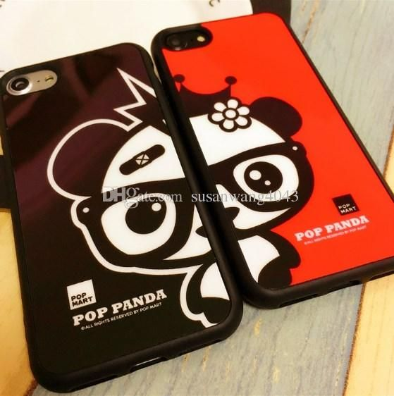 3D couples mirror phone case for i phone iphone 7 6 6s plus 5s slim TPU Acrylic cover cases fashion rubber mirror defender cases