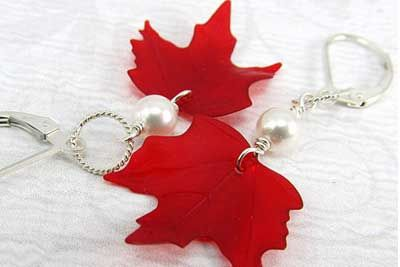 Canada Day Red and White Craft Ideas