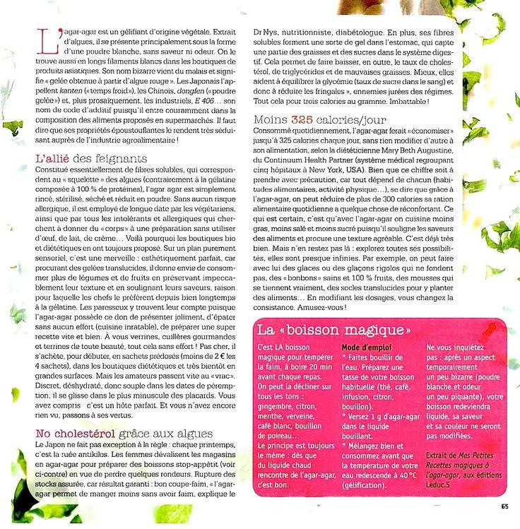 47 best astuces sante images on pinterest aerobics - Comment utiliser agar agar comme coupe faim ...