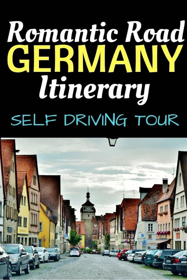 Self Driving Romantic Street Germany Itinerary