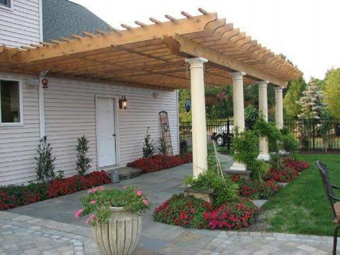 26 best images about attached pergola   gazebos on diy pergola plans attached to house on deck DIY Pergola Plans & Material Specifications