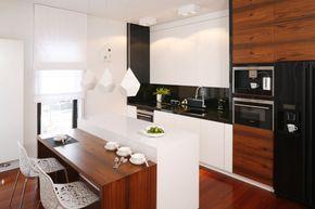 Wysoka zabudowa to idealny sposób na przechowywanie w kuchni. Zobaczcie jak prezentuje się w polskich domach.