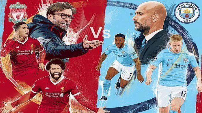 Jadwal Live Rcti Liverpool Vs Man City Mulai Pukul 22 30 Wib Adu Banyak Lepas Tembakan Liverpool Manchester City Kembar