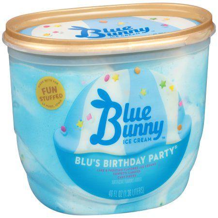 Blue Bunny? Blu's Birthday Party Ice Cream 48 fl. oz. Tub