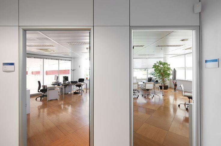 Manerba arredi per ufficio di design c/o SNAM SpA - San Donato Milanese