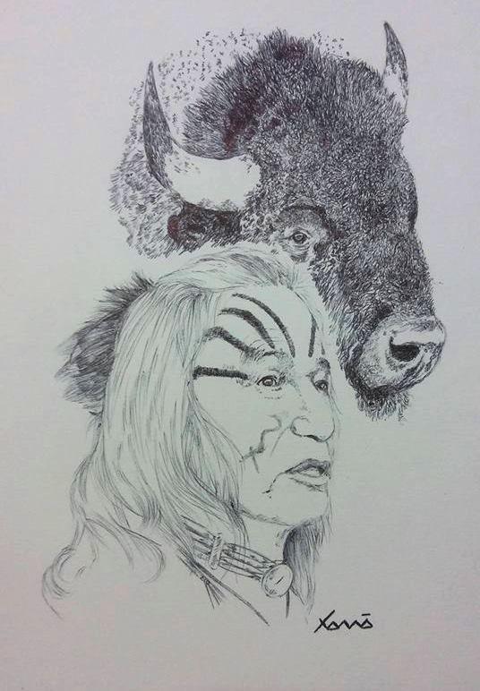 Espírito Sioux, Búfalo, Tatanka