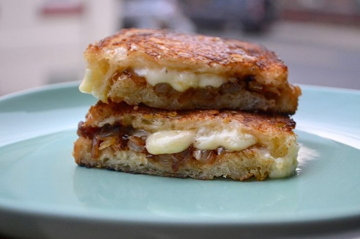 The Ultimate French Onion Soup Grilled Cheese