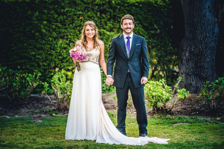 Espacio viña Linderos, Chile. bride and groom, wedding. Hippie Chic wedding