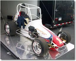 Racing simulator midget