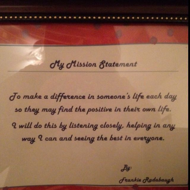 Lifetime Mission Statement Fresh My Personal Quote Pinterest Example Quotes Counselor