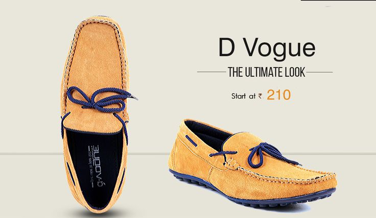 Pair your loafers with a denim or semi-formal trousers for the perfect Look. >> http://hytrend.com/men/shoes/loafers.html