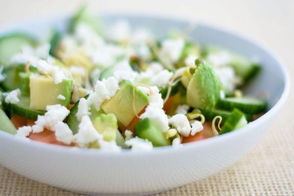Recipe: Avocado and Feta Salad
