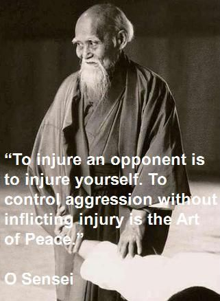 Aikido art of peace in Ueshiba words                                                                                                                                                                                 More