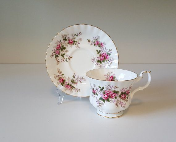 Vintage Teacup by Royal Albert in the Lavender Rose by RetroEnvy21
