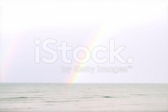 Somewhere over the Rainbow royalty-free stock photo