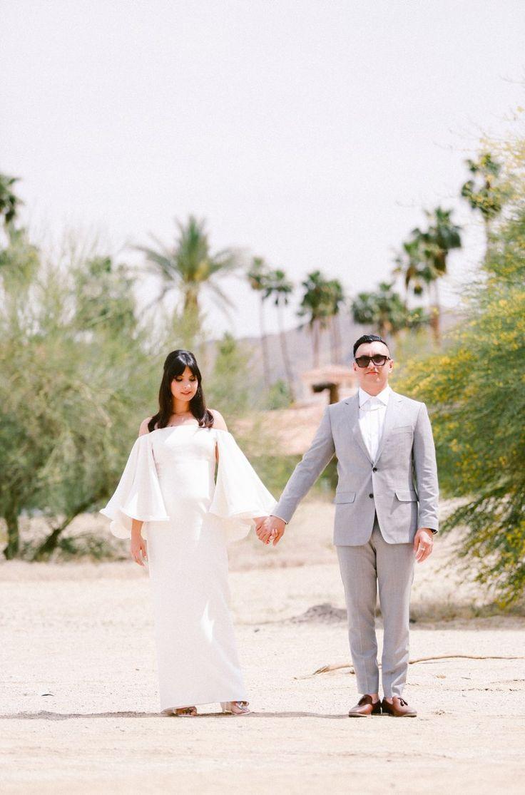 Off-the-Shoulder Cape Houghton Wedding Dress