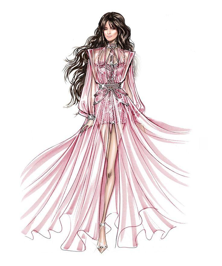 fashion illustration, fashion, platinum blonde, fashion
