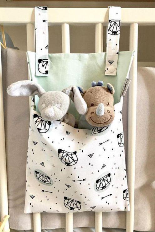 Bereich Baby Tröster / Spielzeug Lagerung / Pyjama Bereich Geburt Geschenk #diyprojects #baby…