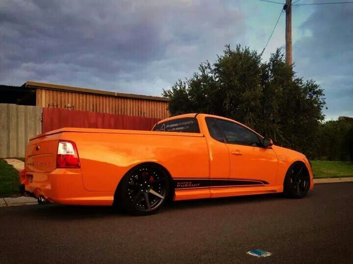 Want. This will look nice next to my FG XR6 sedan. =D
