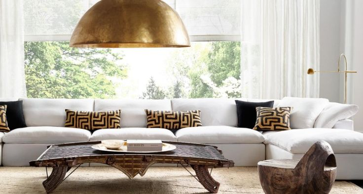 9 Modern Sofas By Restoration Hardware That Will Steal Your Attention   Living Room Ideas. White Sofa. #modernsofas #livingroomset #whitesofa Read more: http://modernsofas.eu/2016/11/24/modern-sofas-restoration-hardware-steal-attention/