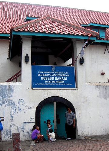 Museum Bahari - Jakarta, Indonesia.The maritime museum is located in one of the old Dutch East India Company Warehouses.