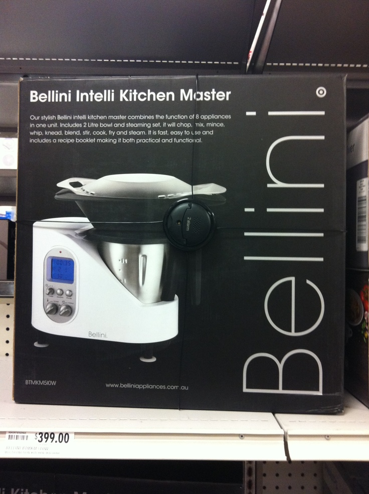 Bellini Intelli Kitchen Master Recipe Book