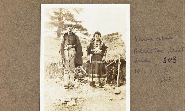 Νύφη, Παλαιοχώρι Λάιστας, Σαρακατσάνοι, photo Margaret Hasluck, φωτογραφία της δεκαετίας του 1920-1930  Αρχείο University College London