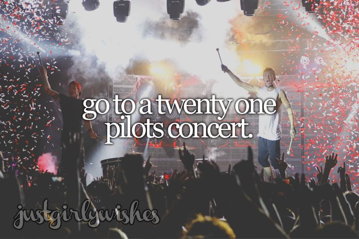 #259 Go to a Twenty One Pilots concert 8/1/2016