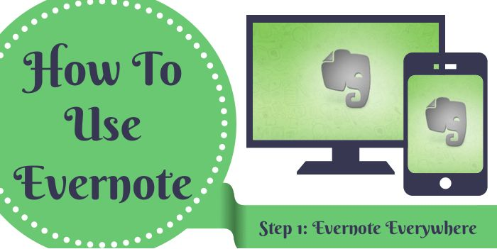 Evernote Everywhere The convenience and flexibility of using an online application #evernote
