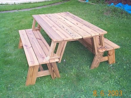 Picnic table that turns into benches projects for chad pinterest picnics benches and tables Picnic table that turns into a bench