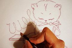 How to use a transfer pencil by Floresita - things I've made.