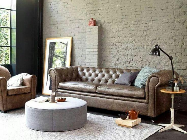 Meer dan 1000 idee n over lederen banken op pinterest lederen sofa zwarte lederen banken en - Sofa zitplaatsen zwarte ...