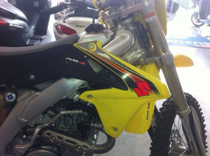 Suzuki rmz450 usata da Ricky Carmichael per il test