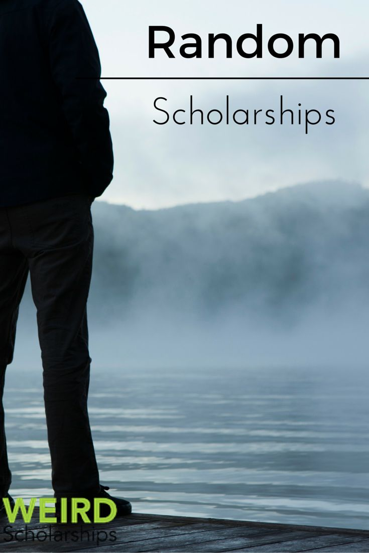 Have you ever noticed that some scholarships are just plain weird? Sometimes, these scholarships can be really fun to apply for and can lighten the tone of having to find funding. Additionally, some of these awards are less competitive than larger merit-based awards.