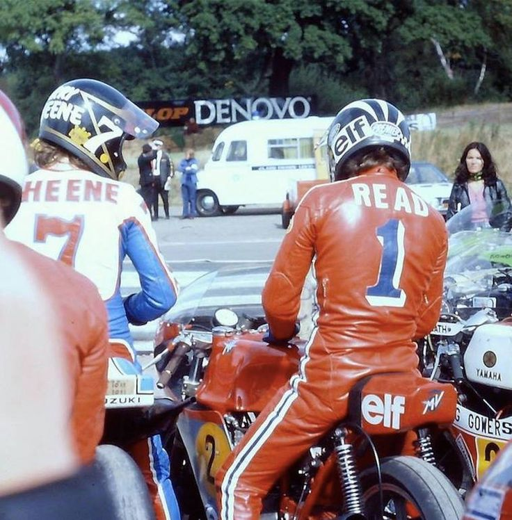 1975 Barry SHEENE Phil READ